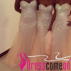 Champagne plus size mermaid sweetheart prom dress with bead tulle party gown