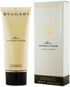 Bvlgari Mon Jasmin Noir гель для душа 100 ml Bvlgari, Shampoo, Personal Care, Coffee, Bottle, Drinks, Drinking, Self Care, Beverages