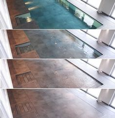 Hydrofloors - Vertically moving Swimming Pool Flooring