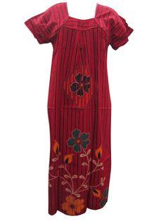 Evening Wear Cotton Long Maxi Summer Kaftan/Sleepwear