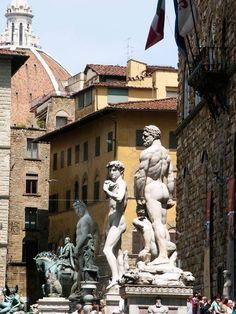 Pizza Della Signoria: Florence Italy