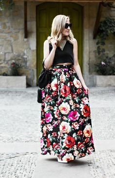 Formal Maxi Skirt - The Style Martini