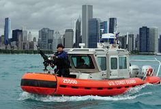 Worth a Thousand Words: Coast Guard Provide Security