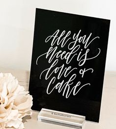 Black Acrylic Custom Painted Wedding Sign | Full Coverage Paint | Black Signs | Your Text Here | Custom Wedding Sign | Painted Weddings Flight Quotes, Top Wedding Trends, Thing 1, Black Acrylics, Paint Pens, Acrylic Colors, Custom Paint, Wedding Signs, Signage