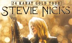 Tour Info Page for 24 Karat Gold Tour from Stevie Nicks
