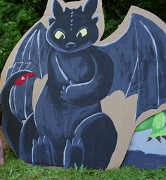 Munkin Punkin: How to Train Your Dragon Birthday Party