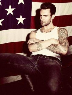 Nothing says American quite the way Adam Levine does