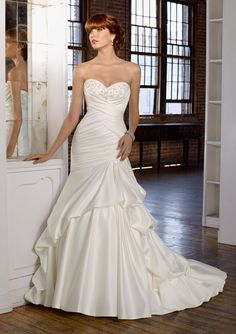 BLU By Mori Lee Style 4809  THE BRIDAL SHOP AT THE AVENUES  JACKSONVILLE, FLORIDA