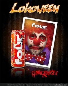 "Phusion Projects & Four Loko Providing a Happy ""Lokoween"""