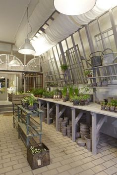 potting bench. Just a little place to do some potting......