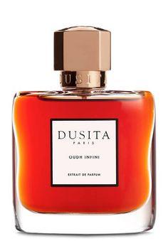 Oudh Infini Extrait de Parfum  by Dusita; Laotian oud, rose de mai, orange blossom, benzoin, sandalwood, vanilla, musk, civet.