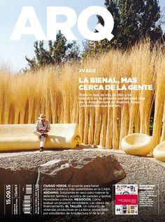 Tapa de la edición impresa de ARQ del martes 15 de septiembre de 2015