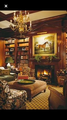 English Country Room