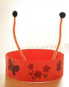 Activities: Make a Bug Headband