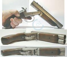Ultra short dbl barrel shotgun