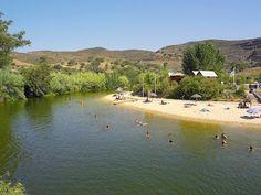 River #Beach Praia Fluvial de Alcoutim - Pego Fundo, Algarve, Portugal | via http://blog.turismodoalgarve.pt