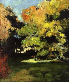 """bofransson: """" The Clearing - Paul Cezanne - circa 1867 """""""