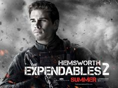 Liam Hemsworth in The Expendables 2 (wallpapers 1600x1200)