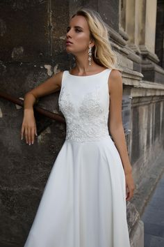 Свадебное платье «Ева» Оксаны Мухи — купить в Москве платье Ева из  коллекции
