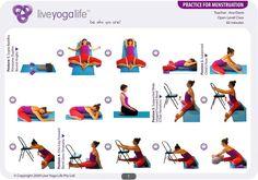 Yoga Práctica para la menstruación.