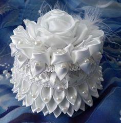 Handmade Jewelry Box Angel. by KanzashiAccessories on Etsy