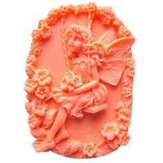 Flower Fairy instrumente tort fondant în formă de decor de ciocolată silicon mucegai tort, l9.5cm * w6.5cm * h3cm – USD $ 10.99