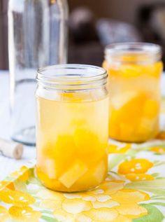 Peach Mango Pineapple White Sangria !
