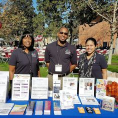 Our friendly staff is excited to be representing the library on a beautiful Los Angeles day! We're as the 25th Annual Empowerment Congress Summit. Founded in 1992 by County Supervisor @mridleythomas it's an ongoing effort to empower and engage all members of diverse communities to ensure that their collective voice is heard. #ECSummit25