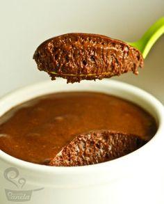 o melhor mousse de chocolate que você já comeu