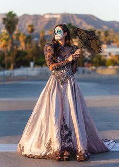 Day of the Dead corpse bride Costume dress by RestyledCostumes ...