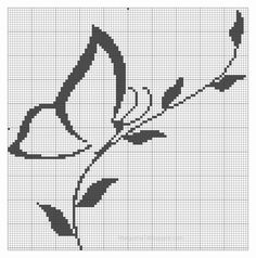small butterfly cross stitch pattern free - Căutare Google