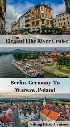 The Elegant Elbe River Cruise with Viking River Cruises. Berlin Germany to Warsaw Poland. We really want to showcase the intimate side of this itinerary and while we admit there are some big cities in there, the small overall group size and carefully planned itinerary left us often feeling like we were the only tourists in the country. Come along with us as we show you a side of Europe you'll be amazed still exists. http://www.divergenttravelers.com/elbe-river-cruise-viking-river-cruises/