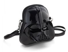 Star Wars Darth Vader Molded Crossbody Purse Gives the Opposite Sex an Upper Hand -  #darthvader #fashion #purse #starwars #style