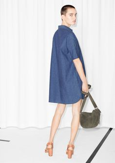 & Other Stories | Oversized Denim Dress