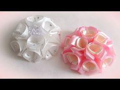 Decora Balacas para Bebe con Flores Artificiales, Balacas para Niñas - YouTube