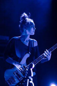 Jenny Lee Lindberg @ Laneway festival 2014