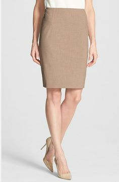 Halogen® Pencil Skirt (Regular & Petite) available at #Nordstrom
