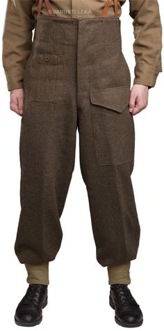 Canadian Pattern 49 Battledress trousers, surplus