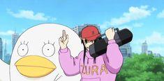 "GINTAMA, It's ""Katsu-Rap"", Katsura Kotaro with Elisabeth"