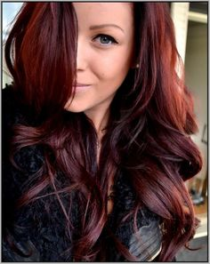 Mahogany red Hair Color 2016