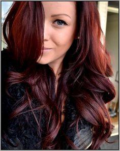 Mahogany red Hair Color 2016