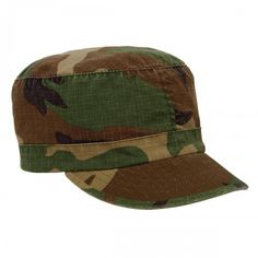 Women's Vintage Woodland Camo Adjustable Cap