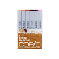 Copic Sketch SKIN TONES 1 Markers Kit