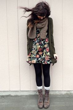 Cute autumn fashion outfits for 2015 : Fashion is a form of ugliness so intolerable that we have to alter it every six months.
