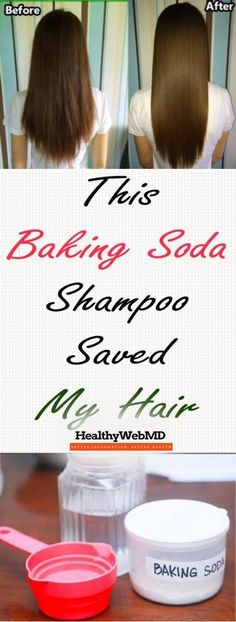 This Baking Soda Shampoo Saved My Hair Baking soda is an incredibly easy way to clean your hair! It sounds shocking but you'll see the results the moment you decide to try it!