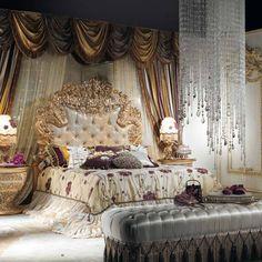 Itália estilo europeu clássico branco e da cor do ouro king size conjunto mobília do quarto - Pesquisa Google