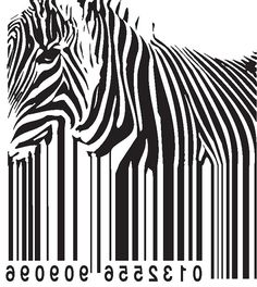 barcode zebra animal political hippy pacifist by carambaclothes, £11.99