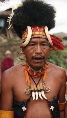 India - Nagaland, At Chingmei village |  © Walter Callens