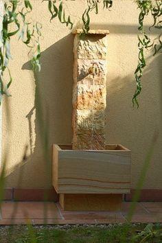 Gartenbrunnen Sandsteinbrunnen Sorin Gift Wrapping, Gardening, Projects, Gifts, Wall Fountains, Garden Art, Gift Wrapping Paper, Log Projects, Blue Prints