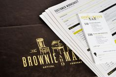 The Brownie and Madam Optical Co. brand launch